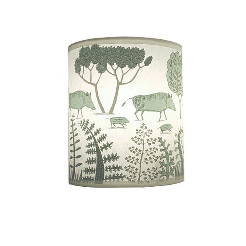 Wild boar lampshade blue lush designs base in wild boar lampshade blue keyboard keysfo Image collections
