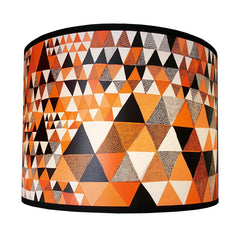 Triangle Lampshade Orange
