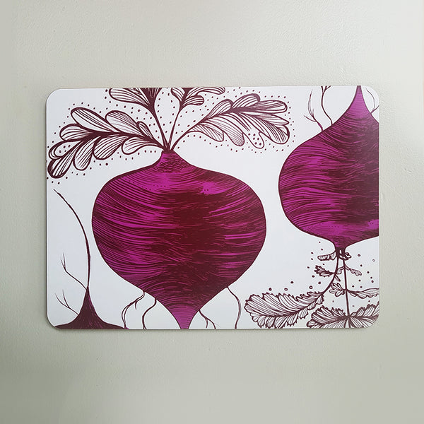 Beetroot Table Mat