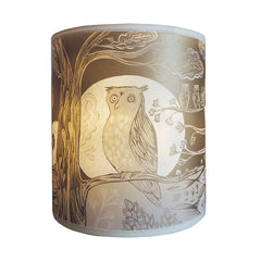 Lush designs small gold owl shade