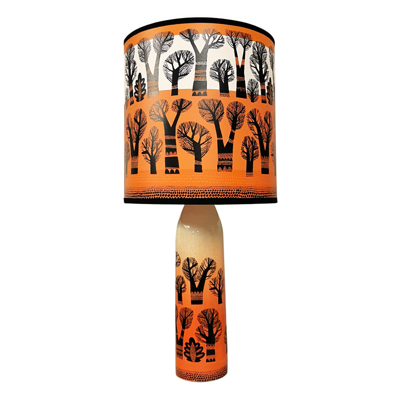 Tree Lamp base - Orange