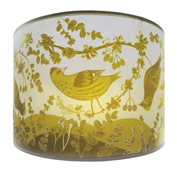 Siskin Lampshade - Yellow