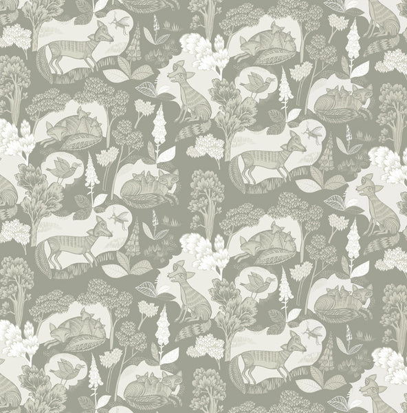 Misty Fox Gift Wrap
