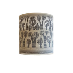 Winter Trees lamp shade (Grey/Cream)