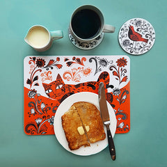 Set of 4 Kitty Table Mats