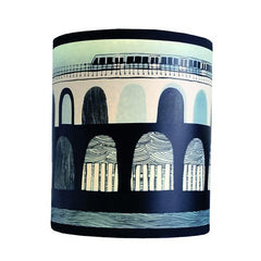 DLR Lampshade - Blue/Green