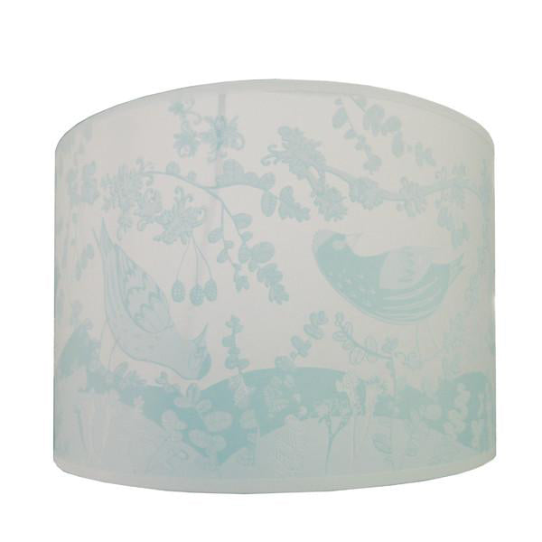 Siskin Lampshade - Pale Blue