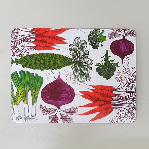 Vegetable large table mat