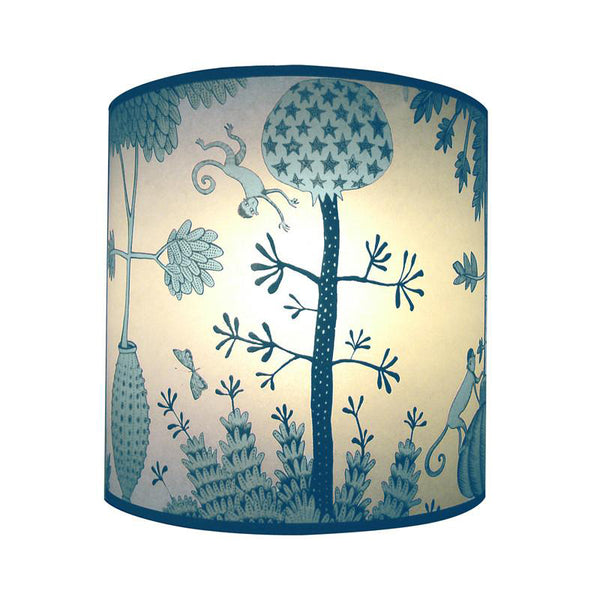 Monkey Lampshade - Blue