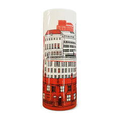 Town Vase: Red