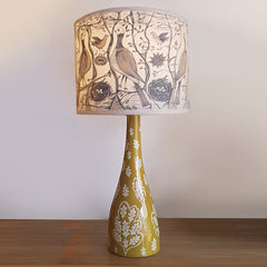 Lush Designs Oak lamp base