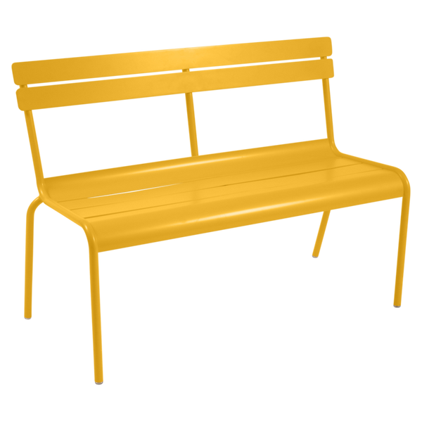Luxembourg Bench with Backrest