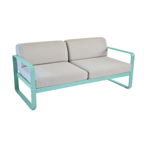 Bellevie 2 Seater Sofa - Flannel Grey Cushions