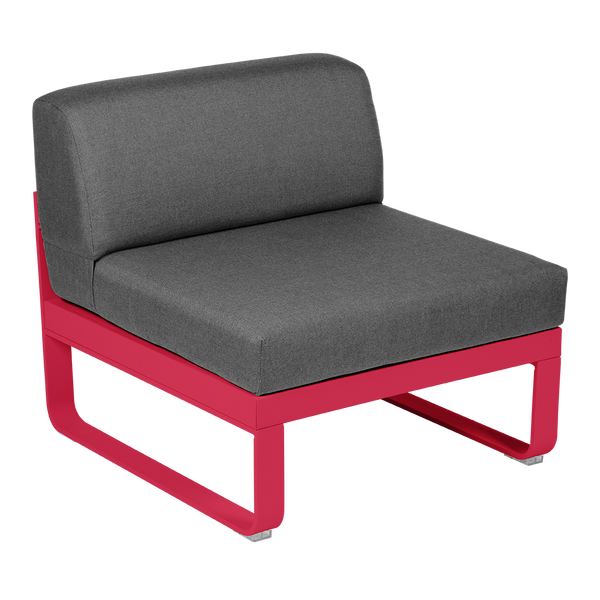 Bellevie 1 Seater Central Module - Graphite Grey Cushions