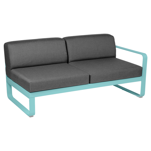 Bellevie 2 Seater Right Module - Graphite Grey Cushions