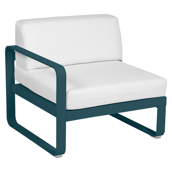 Bellevie 1 Seater Left Module - Off White Cushions