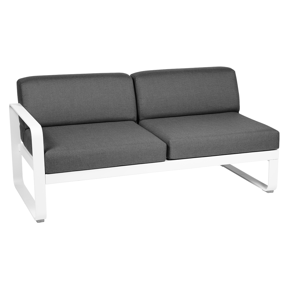 Bellevie 2 Seater Left Module - Graphite Grey Cushions