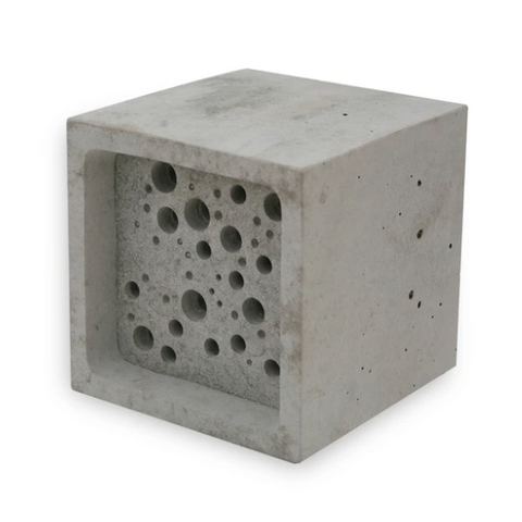 Large Bee Block - White