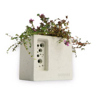Bee Pot Mini - White