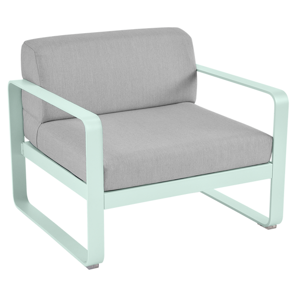 Bellevie Armchair - Flannel Grey Cushions