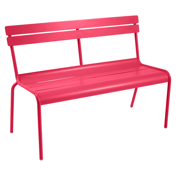 Luxembourg 2/3 Seater Bench with Backrest