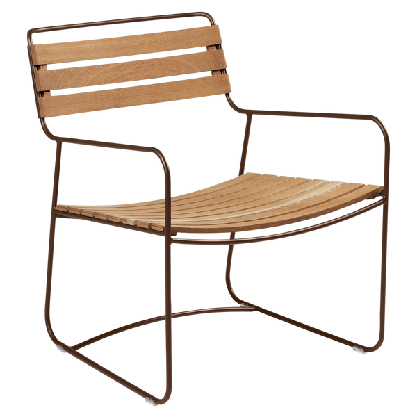 Surprising Teak Low Armchair
