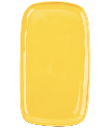 Antipasti Plate Yellow