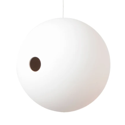 Birdball Birdhouse - White