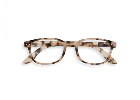 #B Reading Glasses - Light Tortoise