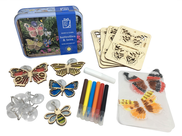 Make and Learn Butterflies & Bees