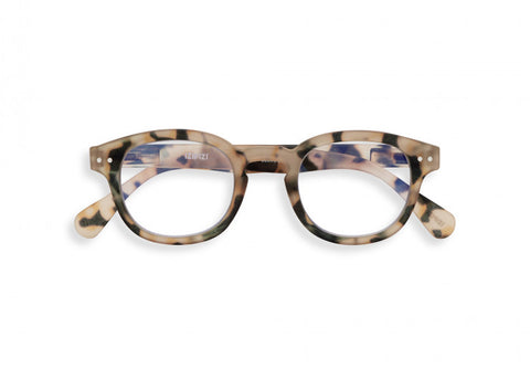 #C Reading Glasses - Light Tortoise