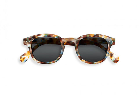 #C Sun & Reading Glasses Blue Tortoise