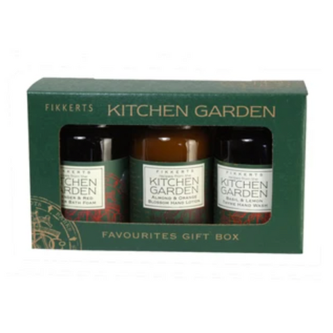Kitchen Garden Favourites Gift Set - Foam Bath, Hand Wash & Hand Lotion