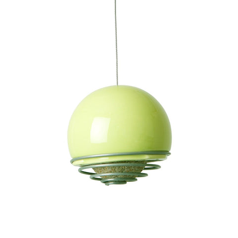 Birdball Belle Bird Feeder Lime
