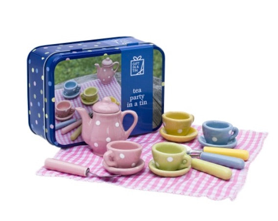 Tea Party in a Tin