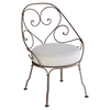 1900 Collection Cabriolet Armchair - Off White Cushions