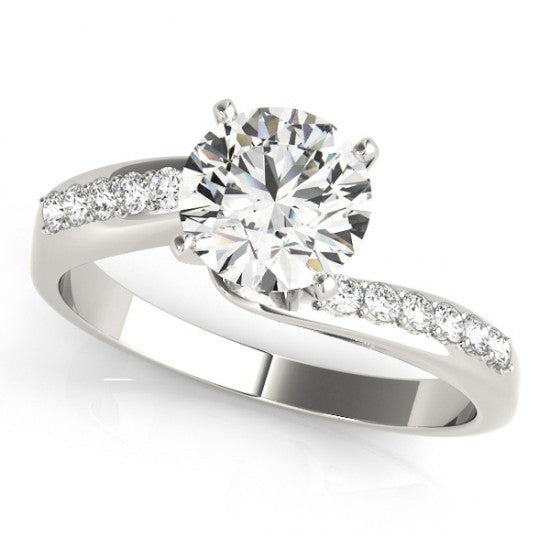 Carina Solitaire Diamond Engagement Ring