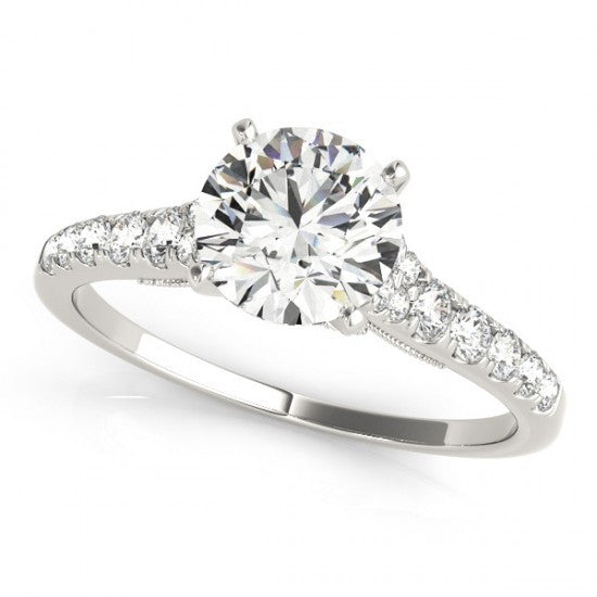 Amelie Trilogy Diamond Engagement Ring