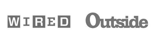 WIRED Logo and Outside Mag Logo
