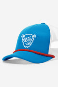 wildish buffalo foam trucker hat blue