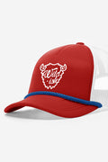 wildish buffalo foam trucker hat red