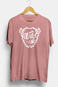 wildish buffalo tee shirt mauve