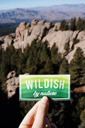 wildish by nature sticker in colorado