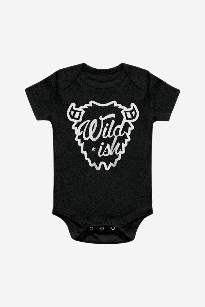 wildish toddler one pieces onesie pajamas buffalo black