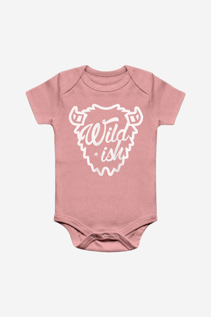 wildish toddler one pieces onesie pajamas buffalo mauve