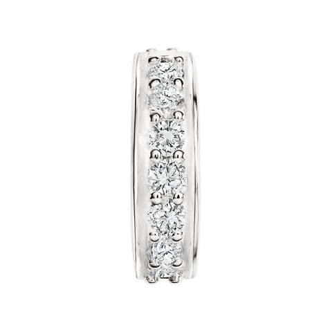 Candid Jewellery - Sterling Silver stopper with white cubic zirconia