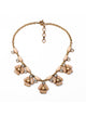 Peach Florette Necklace