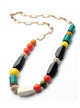 Fashion Candy Colored Rainbow Geometric Choker Necklace