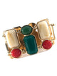 Contemporary Gem Rhinestone Bracelet
