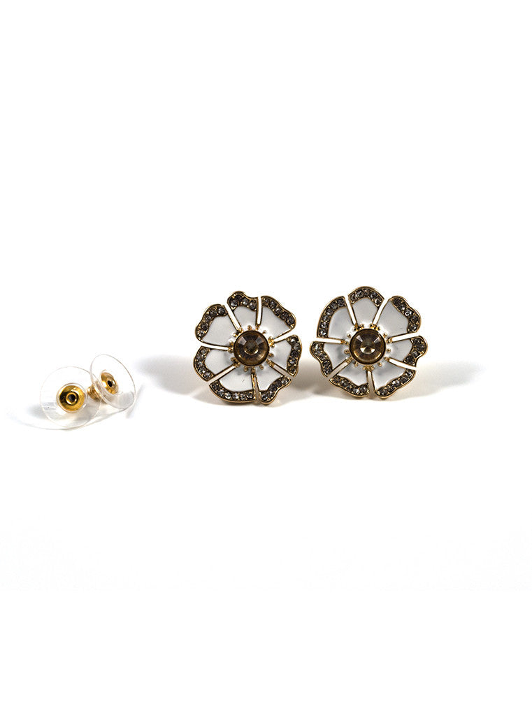 Blossom Flower Stud Earrings (1)